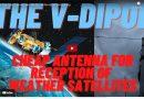 L'antenne pas chère V-Dipol pour la réception météo par satellite